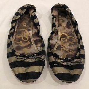 Sam Edelman Felicity Stripe Ballet Flats 7.5